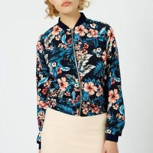 ASOS Floral Bomber Jacket